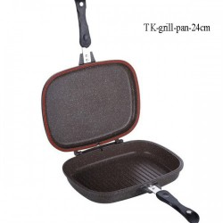 Nonstick double side pan