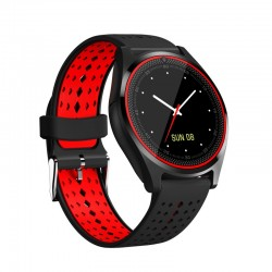 V9 Smartwatch with Camera TF/SIM Card Slot Bluetooth Sweatproof