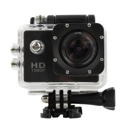 Action Camera HD 1080p 12MP Waterproof Sports Camera (1080P)L)