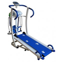 6-WAY MULTI-FUNCTION MANUAL TREADMILL