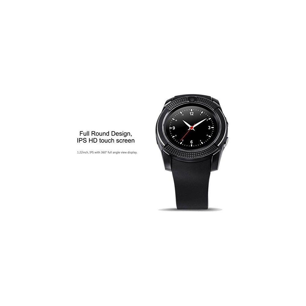 Buy V8 Smartwatch Clock With Sim & Tf Card Slot Online in Nepal