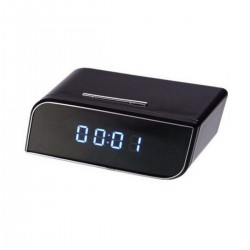 Security Alarm Clock IR Cam HD