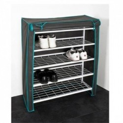 Folding Steel Shoe Rack