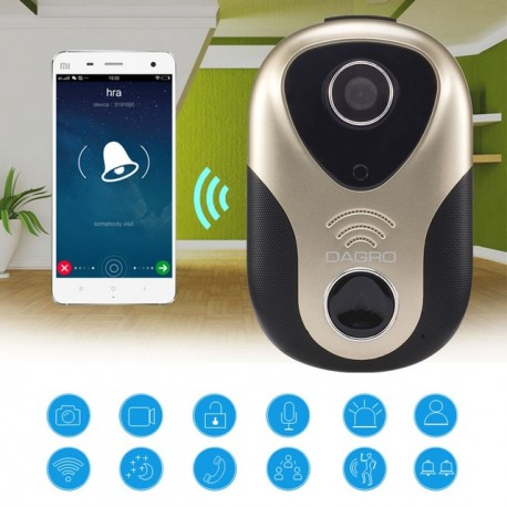 WiFi Wireless 163eye L1 Door Bell Night Version Home Security