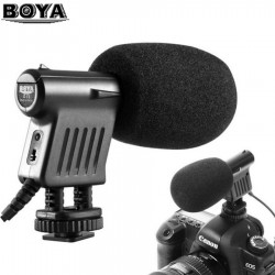 BOYA BY-VM01 Professional Video & Broadcast Directional Condenser Microphone