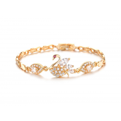 18k Gold Plated Luxury Swan Bracelet(SK-R13)