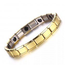 18K Gold Plated Gold Plated Health Bracelet