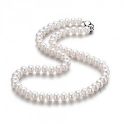 Natural Freshwater Pearl Strand Necklace(SK-R21)
