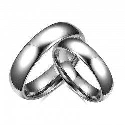 Classic Grey TungstenWedding Band 6mm(SK-R2)