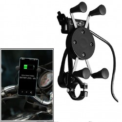 Bike Mobile Phone Holder with USB Charger