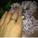 Sterling Silver Infinity Proposal Ring MR061R