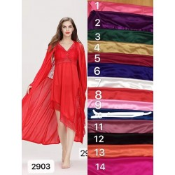 Nighty best silk quality inside & outside robe