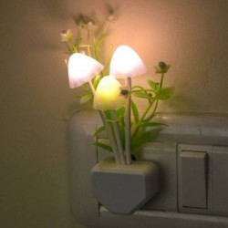Kitchen Hub Mushroom Lamp Automatic Sensor Light Multi Color Changing Night Lamp