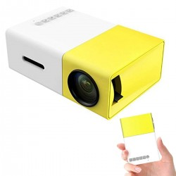 Mini Projector, YG300 Portable LED Projector