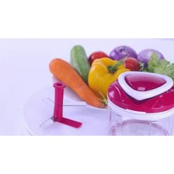 Easy Pull 3-in-1 Plastic Chopper