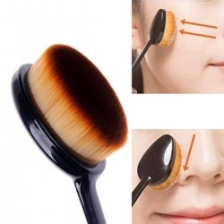 Oval Foundation Brush- Oval Foundation Brush,Oval Makeup Face Powder Blusher