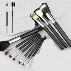 12 Pieces Makeup Brush Set Professional Foundation Makeup Brush Set