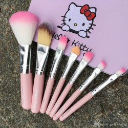 Hello Kitty 7 Pcs Makeup Brush