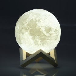 Moon Lamp LED Night Light 3D Print Moonlight