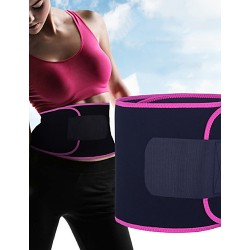Sweat Protector Waist Shape Perspiration Belt Abdominal Retraction Pressure Belt Fitness Weight-lifting Yoga Protector