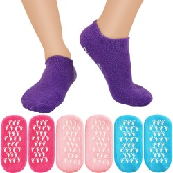 Moisturizing Gel Socks Soft Spa Gel Socks for Repairing and Softening Dry Cracked Feet Skins