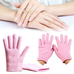 Spa Gloves Set Moisturizing Silicon Gel for Skin Whitening Care Beauty Spa Treatment