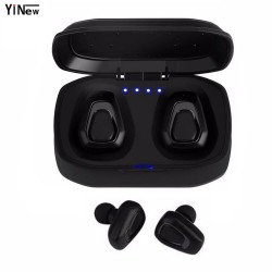 A7-TWS Wireless Sports Earbuds Bluetooth HiFi in-Ear Stereo Headphones with Charging Box