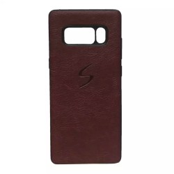 Brown Solid Phone Cover For Samsung Galaxy Note 8