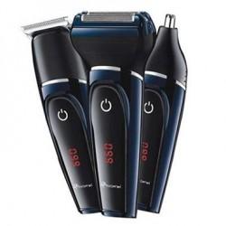 Gemei 3 in 1 Hair Clipper Shaver And Nose Hair Trimmer (GM-565)