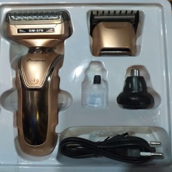 Gemei gm-579 3 in 1 Shaver Hair Clipper Razor Men Nose Ear Hair Trimmer Grooming Kit