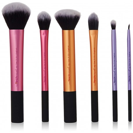 Real Techniques Rt-1415 Sam's Makeup Set, Multi color (Pack of 6)