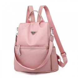 Anti-theft Light Weight Shiny Nylon Soft Oxford Cloth Backpack Travel Shoulder Bag