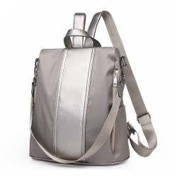 Water Resistant Light Weight Anti-theft Oxford Cloth Backpack Travel Shoulder Bag
