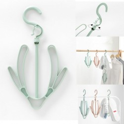 Nordic Green Plain Windproof Drying Shoes Hanger Hook