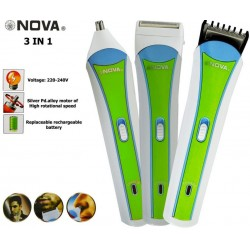 NHC-2013 3 in 1 Style Nose Clipper Electric Hair Cutting Machine Saving Hair Trimmer
