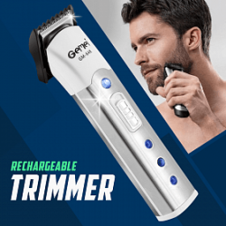 Gemei Rechargeable Cordless Trimmer 3 Watts, GM-648