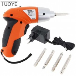 TUOYE 3.6V Rechargeable Battery Electric Screwdriver