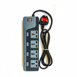 xLab XEC-440N 4 Socket Universal Power Extension Cord