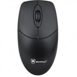 MicroPack Wired Mouse Optical - Black M101