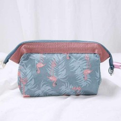 Flamingo Make Up Bag Pencil Case Emoji Cosmetic Travel Girls Women Handbag