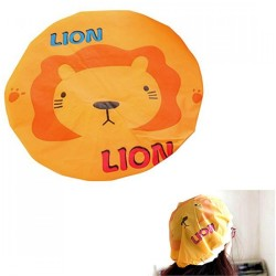 Cute Cartoon Shower Cap Waterproof Shower Lace Elastic Band