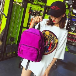 Purple and red Water Repellent Slim Laptop Backpack For Women