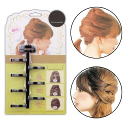 Lady Hair Styling Braiding Tool Magic Twist Plait Braid Clip Bun Maker Roller