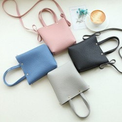 Korean Design Pu Leather Shoulder Bag For Women