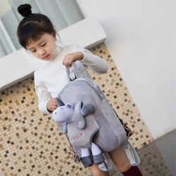 Cute Animal Plush Toy Kids Cartoon Travel Shoulder Bags School Backpacks
