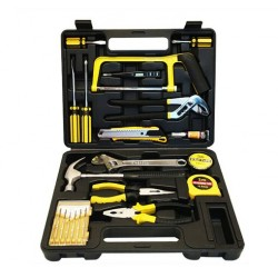 22Pcs Household Tools Set Multifunction Home Use Hand Tools Combination Electrician Woodworking Hand Tool Set Repair Case Box