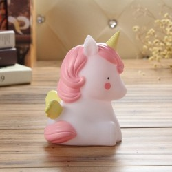 Unicorn 3d Led Animal Night Light For Kids- Free Battery