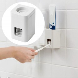 Automatic Toothpaste Dispenser Wall Mounted Holder Squeezer Bathroom Accessories