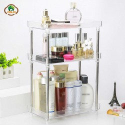 3 layer Storage Shelf Acrylic Makeup Organizer