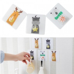 3pcs Pac Cute Animal Wall Mount Holder Animal Hooks Gadget Strong Sticky
